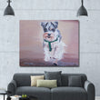 Cartoon Animal  Cute Chad Dog Canvas Painting For Living Room,Kid's Room Nursery Art Print Poster Wall Pictures Bedroom