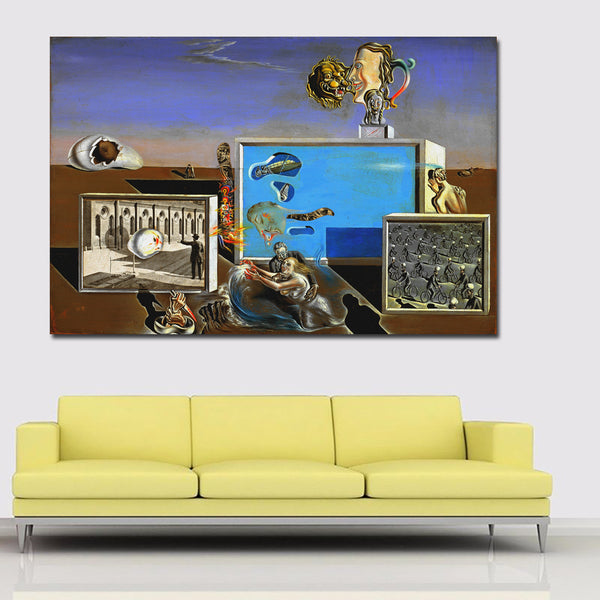 Creative Painting Of Salvador Dali Pictorial Art Wall Art Canvas Painting Print On Canvas For Living Room Posters And Prints