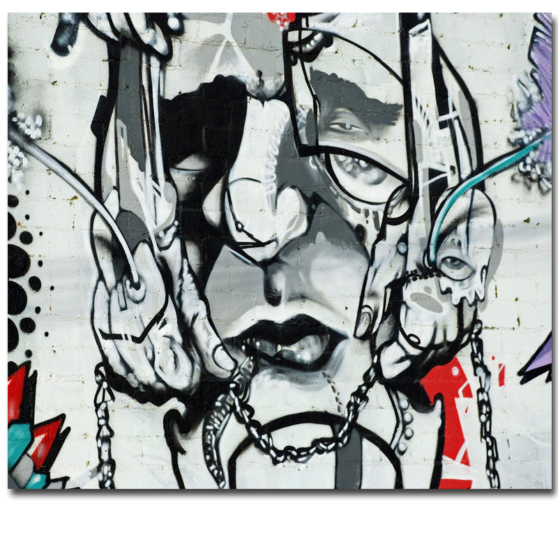 Cuadros Decoracion Abstract Graffiti Painting Wall Art Print On Canvas For Wall Picture Decoration Painting In Living Room