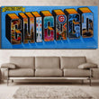 Graffiti Street Art Of Chicago Canvas Print Oil Painting Wall Pictures For Living Room Paintings Cuadros Decorativos (No Frames)