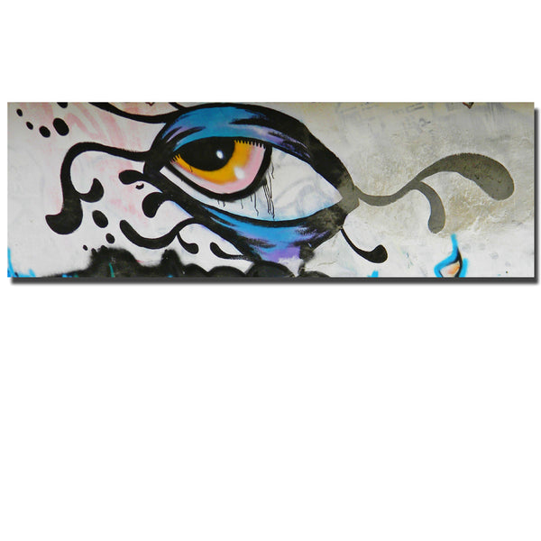 Graffiti Street Art Painted Wall Art Print Poster Abstract Eye Picture Home Wall Decor Picture For Bedroom Or Living Room
