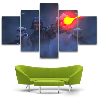 HD Printed Star Wars Painting children's room decor print poster picture canvas Free shipping