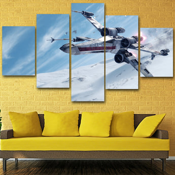 HD Printed Star wars Painting on canvas room decoration print poster picture canvas Free shipping