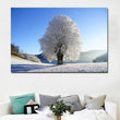 HD Prints Landscape Winter Snow Trees Painting Printed On Canvas Prints Posters Home Decoration Wall Art Paintings Unframe