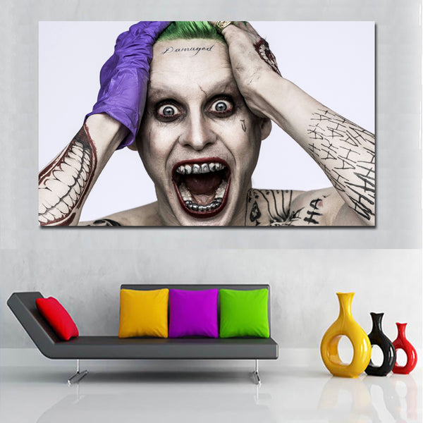 Hd Printed Canvas Painting Modern Wall Art Home Decor Living Room Movie Poster Harley Quinn Pictures Suicide Squad Painting