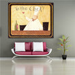 Kitchen Chef Chicken with Vegetable Soup painting Wall poster and Pictures Printed On Canvas For Dinner restaurant Decor