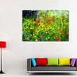 Large Printed Impressionist Art Colorful Flowers Canvas Art Landscape Paintings Prints Poster with Vivid Color for bedroom decor