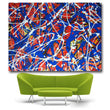 Large Size Long Abstract Creative Design Psychedelic Lines Canvas Print Painting Poster Wall Picture For Home Decor