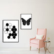 Modern Black and White Abstract Animal Nordic Kawaii Kid Room ,Living roon Decor Canvas Painting Poster Print Wall Art