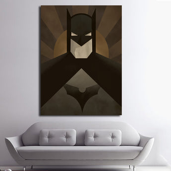 Modern Paintings Super Heros Wall Picture Canvas Prints Wall Decor Art For Kids Room Superhero Batman Painting Unframed