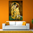 Original famous Paint The Kiss by Gustav Klimt wall painting for home decor oil painting art print on canvas No Framed