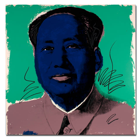 2018 Promotion Rushed Cuadros Andy Warhol Mao Zedong Wall Art Painting Prints On Canvas No Frame Pictures For Living