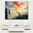 Abstract Art surrealism Het Zwarte Gat Abstract Painting Printed On Canvas Art Painting Wall Pictures