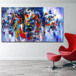 Abstract Painting Oil Painting Wall Pictures For Living Room Home Decor Abstract Colorful Canvas Art Embodied Spirits