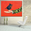 Bird In Hand Poster Canvas Painting Wall Art Print Figure Painting Wall Pictures For Living Room Home Decor