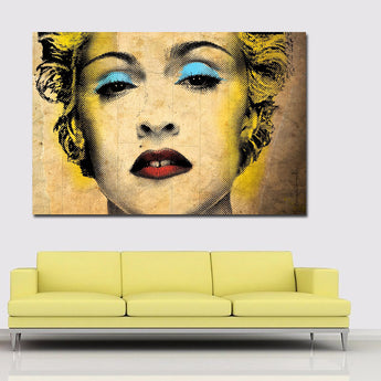 Colorful Audrey Hepburn Marilyn Monroe Vintage Art Canvas Poster Print Wall Picture Modern Home Decoration