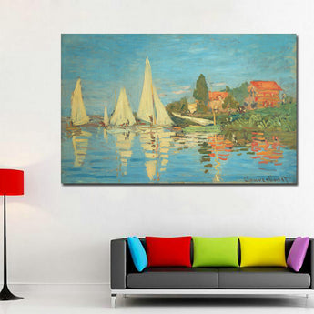 Free shipping! High Quality!Monet Famous Paintings Reproductions HD Print Monet Posters For Living Room Wall