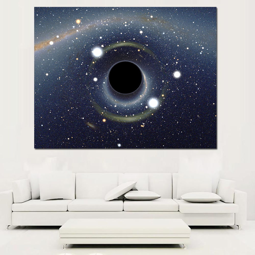 Hd Printed Canvas Painting Universe Galaxy Starry Sky Posters Wall Pictures For Living Room Home Decor