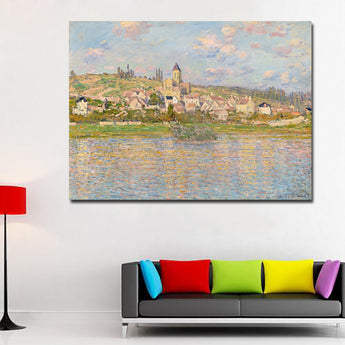Impression Sunrise Monet Famous Paintings Reproductions HD Print Monet Posters For Living Room Wall Monet Decorative
