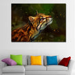 Kawaii Animal Painting Art Big cats Head Whiskers Poster Prints Wall Art Canvas Painting Wall Picture Kids Room Decor