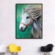Pop Art Horse canvas oil painting Modern canvas art prints posters beautiful color Graffiti Art Canvas Poster