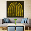 Unframed Art Print Canvas Picture By Yayoi Kusama Modern Oil Painting On Canvas Wall Art For Dining Room Decor Unframed