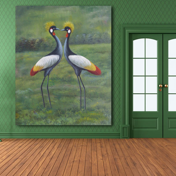 Unframed Vintage Birds Retoing Europe Home Decor Wall Art Picture Print Painting On Canvas For Living Room Unique Gift