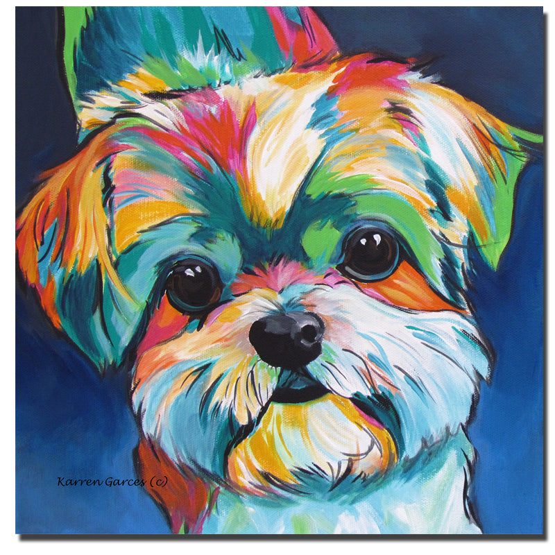 wall pictures for living room cuadros cute little dog new wall art