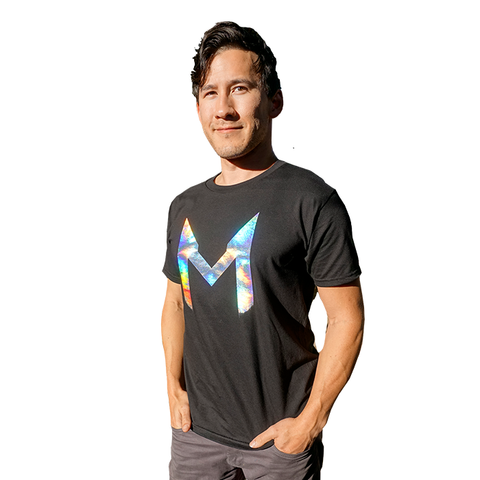 "Holographic Tee - Large ""M"""