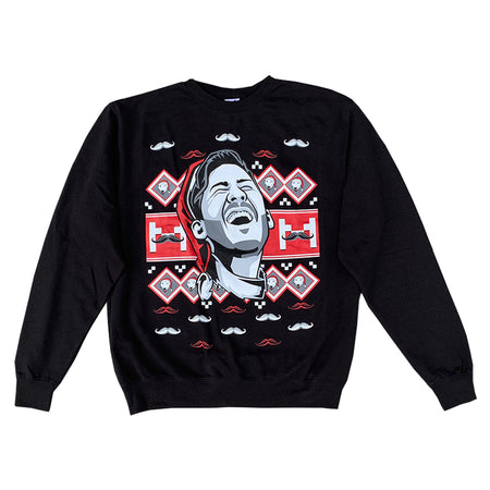 Markiplier Ugly Xmas Sweatshirt (Black)