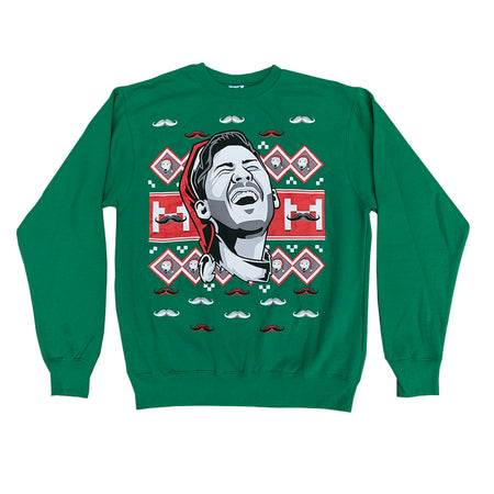 Markiplier Ugly Xmas Sweatshirt (Green)