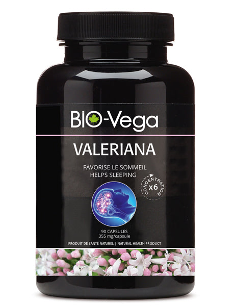 Valeriana<br> Helps sleeping