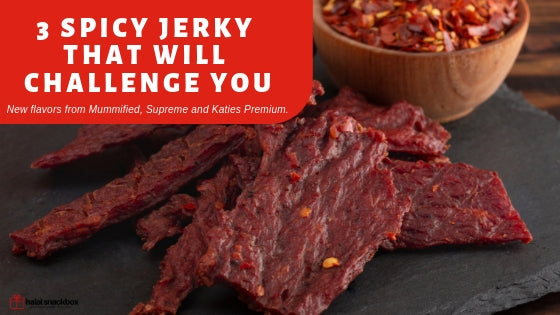 Three New Spicy Halal Jerky That Will Challenge You