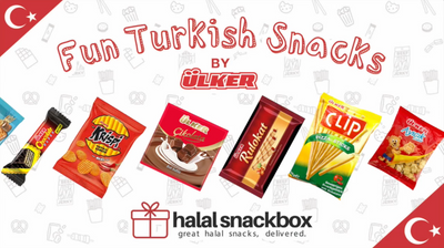 Trying Fun Turkish Snacks by Ulker