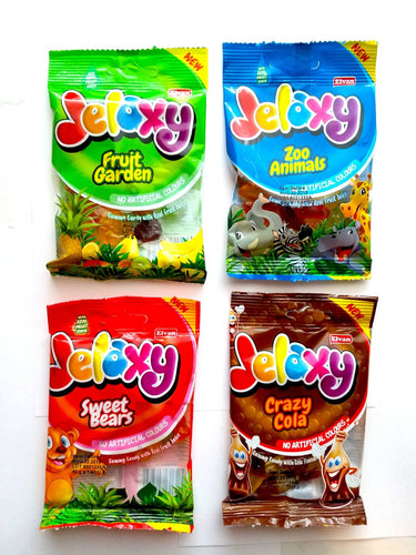 Jelaxy Assorted Flavors Gummy Minis (Imported from Turkey)
