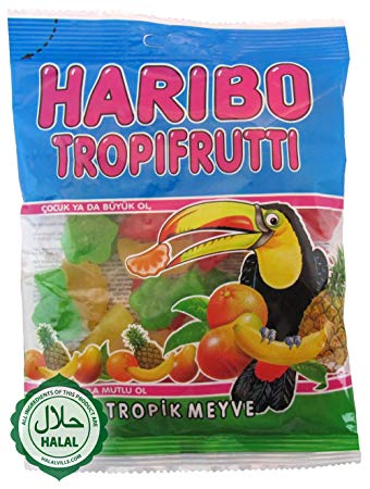 Haribo Tropifrutti (Imported from Turkey)