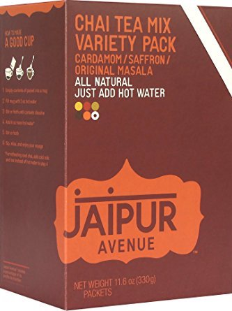 Jaipur Avenue Chai Tea Mix Variety Pack - 8 Packets