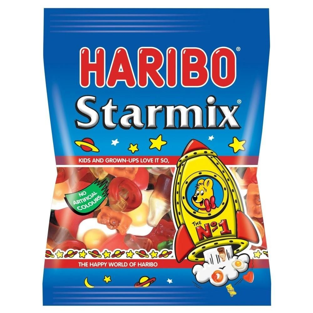 Haribo Starmix (imported) - The best mix of Haribo Gummies Large (160g)