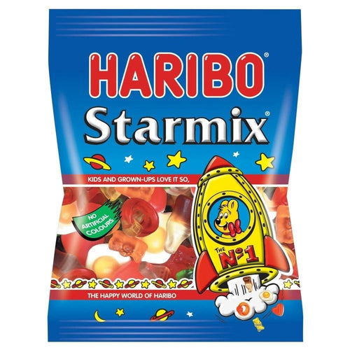 Haribo Starmix (imported) - The best mix of Haribo Gummies Small (80g)