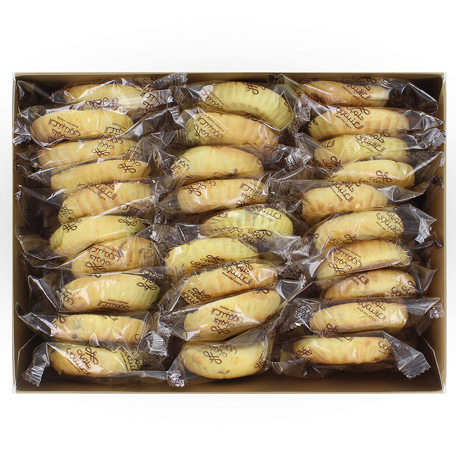 Single Maamoul (Cookie Pastry) with Dates - Authentic Ramadan and Middle East Sweets