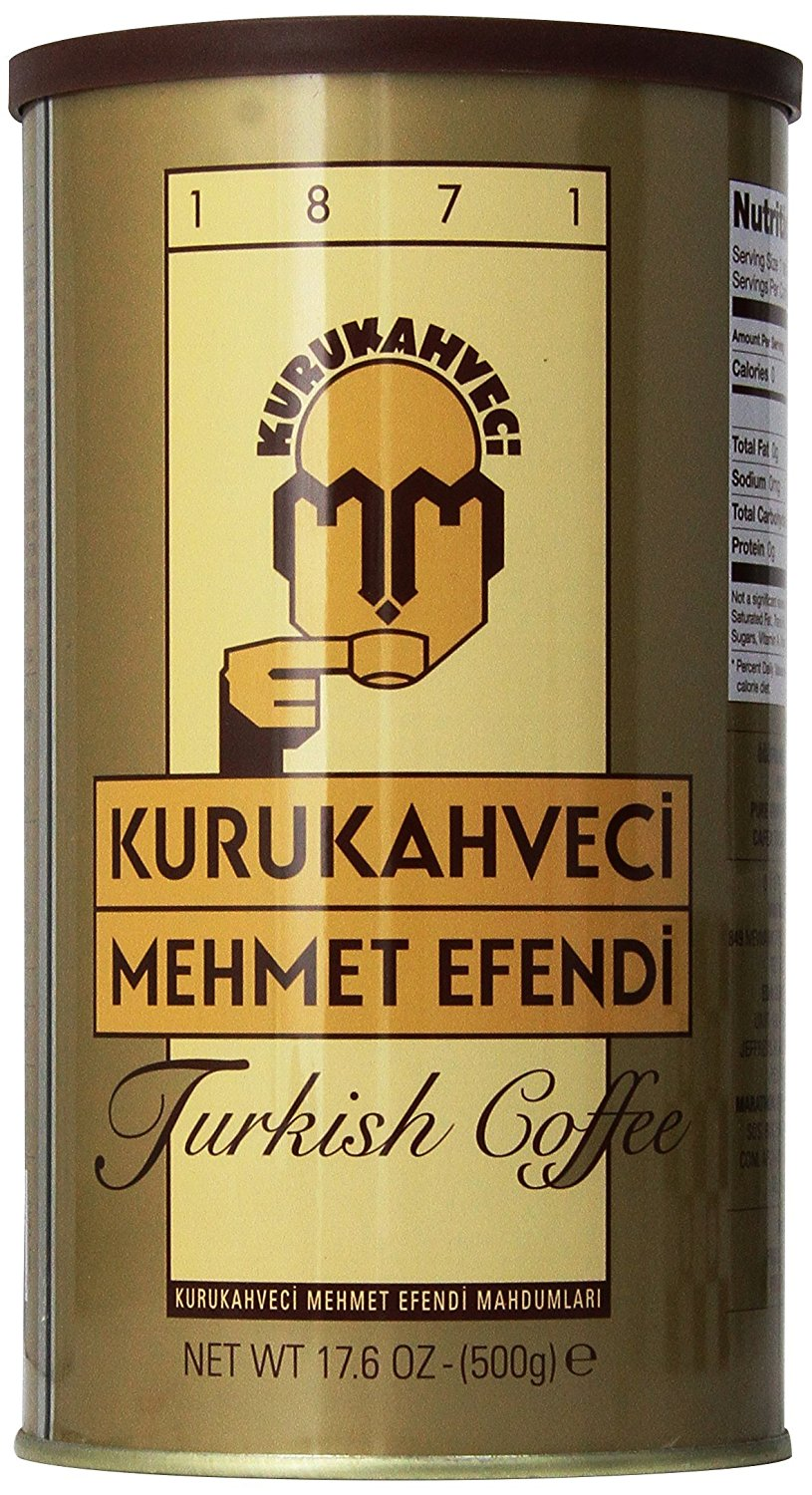 Turkish Coffee - KURUKAHVACI MEHMET EFENDI