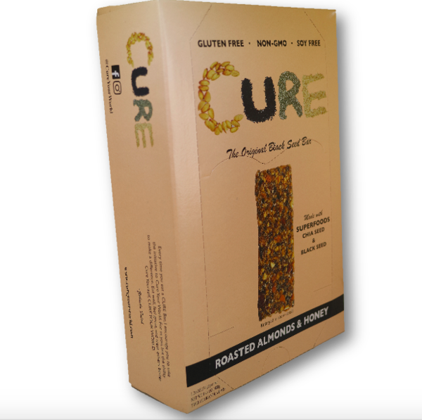 The CURE Bar - Roasted Almond - Box of 12