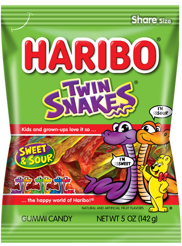Haribo Twin Snakes (Imported from Turkey) 67g