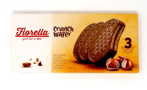 Fiorella Crunch Milk Chocolate Wafers