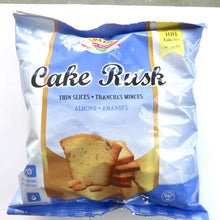 Crispy Cake Rusk - Thin Slices with Almond