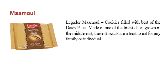 Legador Date Cookie (Maamoul)