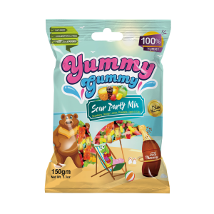 NEW! Yummy Gummy Sour Party Mix