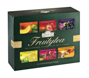 Ahmad Tea Fruitytea Selection Pack- 6x10 tea bags