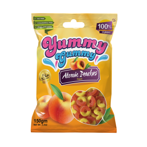 New! Yummy Gummy Atomic Peaches