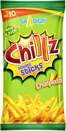 Chillz Chatpata Potato Sticks